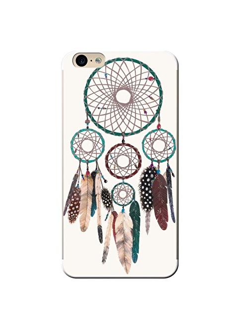 People's Cover iPhone 6 Plus / 6S Plus Kabartmalı Telefon Kılıfı Renkli